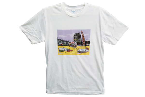CAMISETA BCN KILLS PARALLEL SOUVENIR
