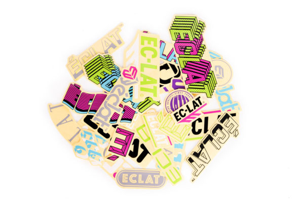 Stickers Eclat