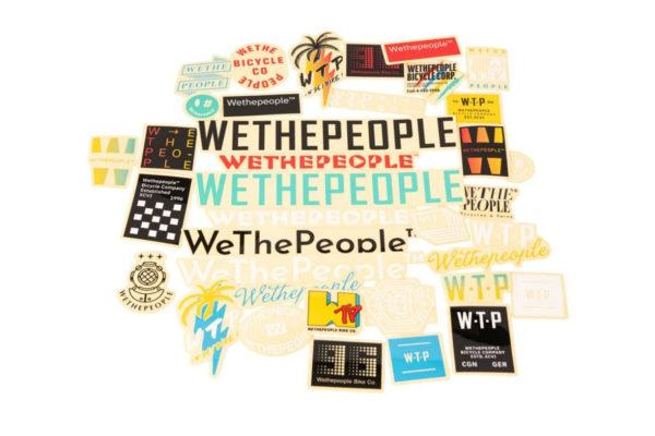 Stickers Wetepeople BMX