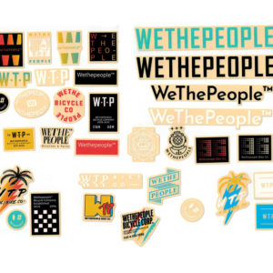 Stickers Wetepeople BMX